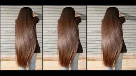أسهل طريقة لتطويل الشعر وزيادة كثافته